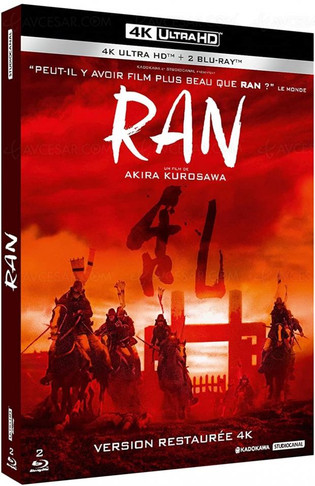Ran restauré en 4K, le chef-d'œuvre d'Akira Kurosawa plus beau que jamais