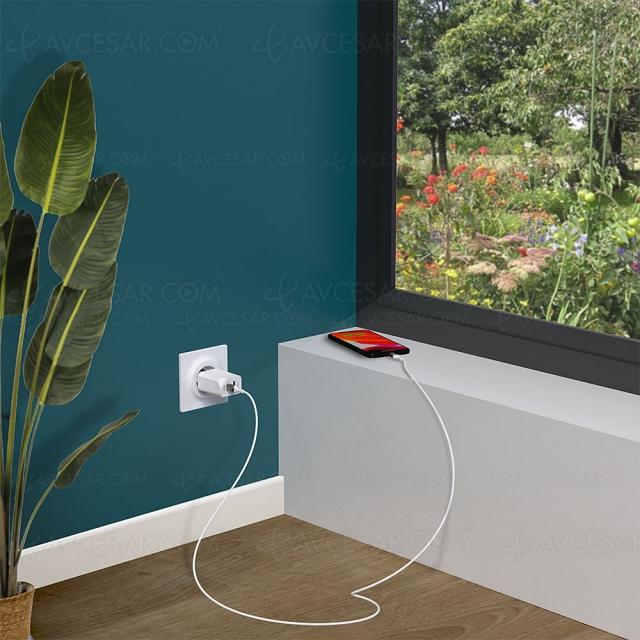 Kits de recharge écolo Green_e 15 W, 18 W, 20 W et 65 W pour smartphone, ordinateur, console…