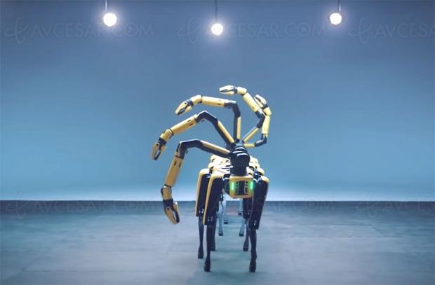 Après les boys band, le robot Boston Dynamics band (vidéo à ne pas louper)