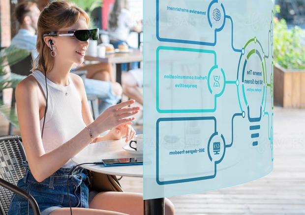 TCL NxtWear G, lunettes connectées et écran portable 140'' personnel