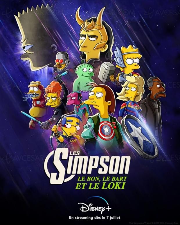 Le Bon, le Bart et le Loki : les Simpson s'injectent une dose de Marvel