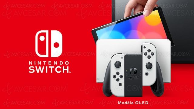 Nintendo Switch Oled, disponible le 8 octobre