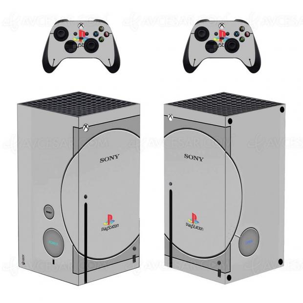 Transformez votre console Xbox Series X en Playstation (One)