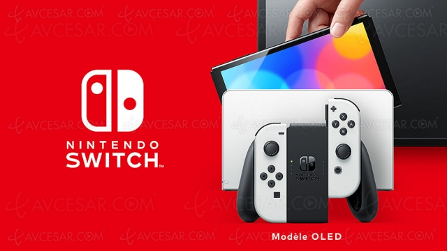 Nintendo Switch Oled, mise à jour prix indicatif
