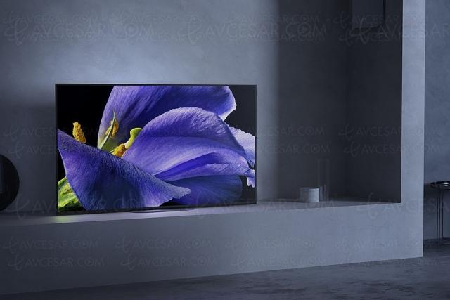 Soldes été 21 > TV Oled 4K Sony KD‑65AG9 : ‑1 500 € de remise, meilleur prix jamais vu