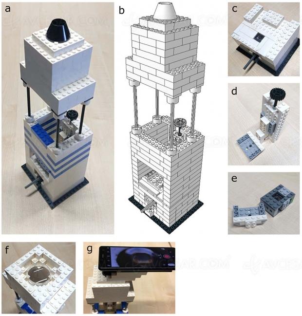 Legos + iPhone 5 = microscope pas cher