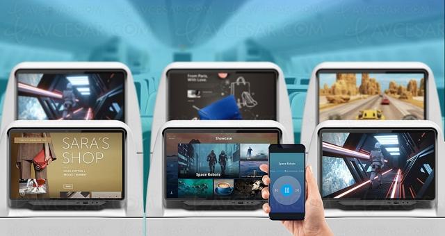 Avions de ligne, bientôt des écrans multimédia QLED 4K HDR signés Thales