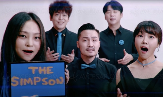 Les Simpson a cappella, made in Springfield, Corée du Sud