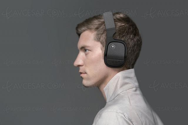 Yamaha YH‑L700A, casque Bluetooth avec réduction de bruit active, Sonore 3D et Head Tracking