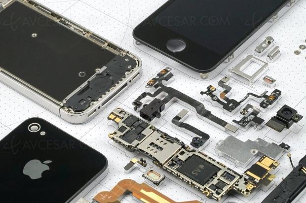 Smartphones démontés et encadrés (bis), c'est beau