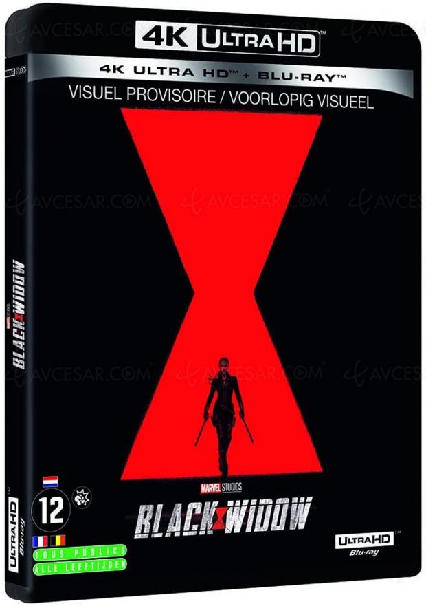 Black Widow 4K Ultra HD, précommandes ouvertes