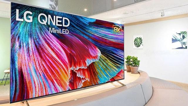 TV Ultra HD 8K Mini LED LG QNED99 : mise à jour prix indicatifs et design