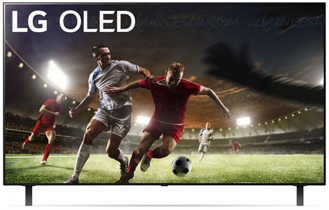 Soldes été 2021 > TV Oled UHD/4K LG OLED48A1 à 999 € soit ‑33% de remise