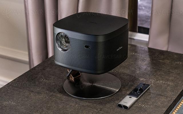 XGimi Horizon Pro, vidéoprojecteur DLP Ultra HD/4K ultra‑compact à LED
