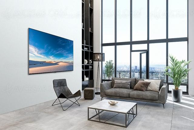 TV Ultra HD 8K Mini LED LG QNED96 : mise à jour prix indicatifs et spécifications