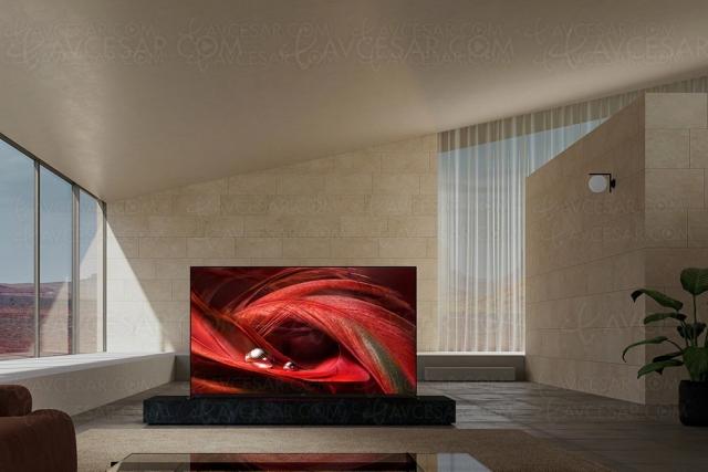 TV LED Ultra HD 4K Sony X95J : mise à jour prix indicatifs et disponibilité