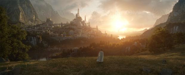 Première photo de la série Le seigneur des anneaux, le 2 septembre 2022 sur Amazon
