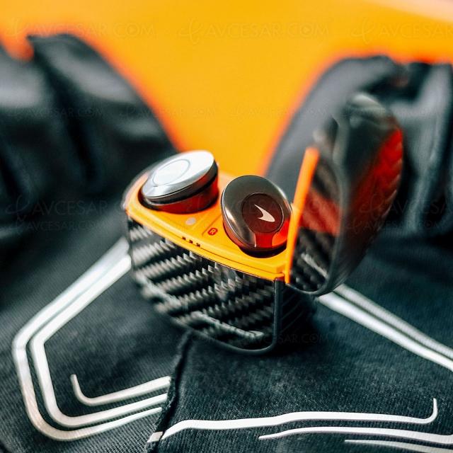 Klipsch T5 II True Wireless Edition McLaren, nouveaux écouteurs sans‑fil