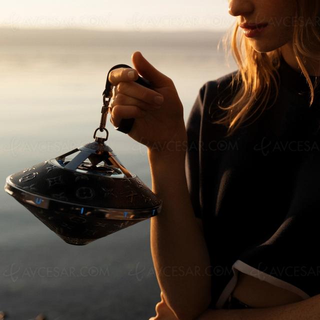 Louis Vuitton Horizon Light Up, enceinte Bluetooth de luxe
