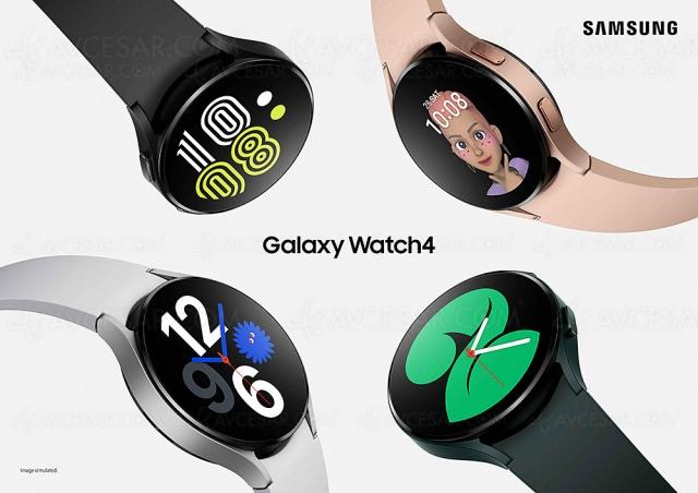 Galaxy Watch4 et Galaxy Watch4 Classic, Samsung maître du temps