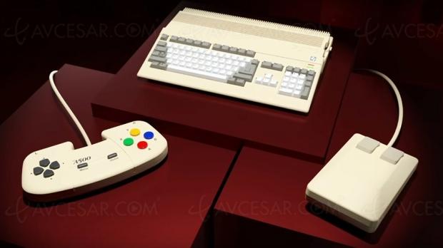 The A500 Mini, le retour de l'Amiga !