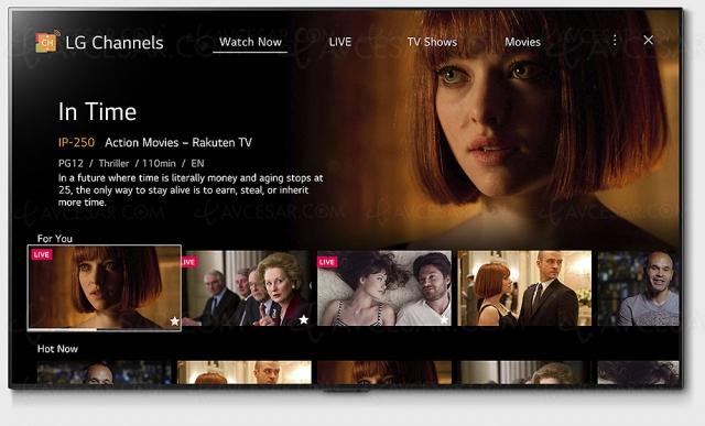 LG Channels : nouvelle interface et davantage de contenus