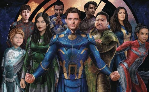 Marvel Les Éternels, bande‑annonce
