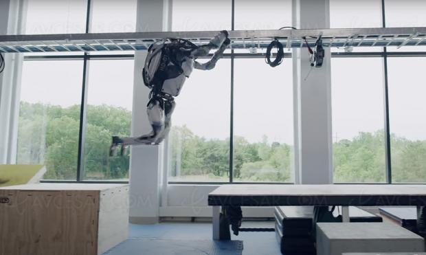 Impressionnant parkour pour le robot Boston Dynamics Atlas (vidéo)