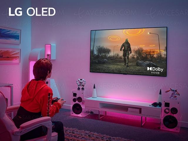 TV Ultra HD 4K LG OLED42'' retardé à 2022