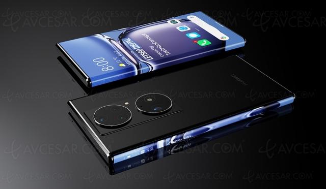 Smartphone Huawei avec écran « débordant » et caméra sous écran (vidéo)