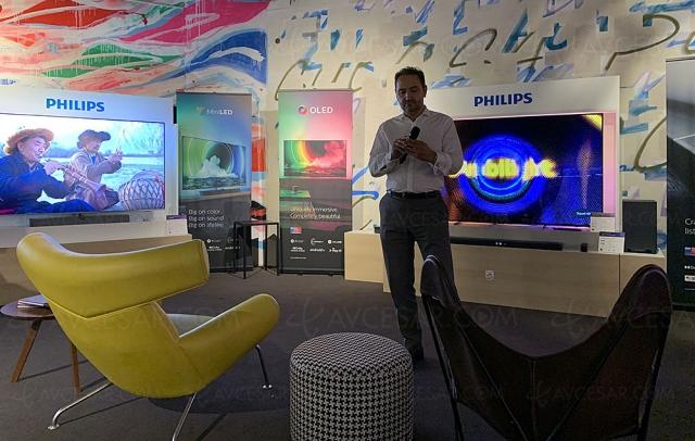TV Mini LED Ultra HD 4K Philips PML9636, mise à jour prix et spécifications