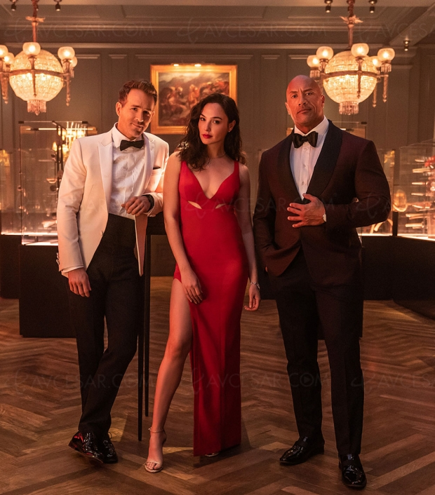 Gal Gadot, Dwayne Johnson et Ryan Reynolds écrasent Lupin en 2 minutes top chrono
