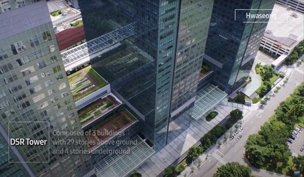 Vol au-dessus d'un nid de Samsung (vidéo)