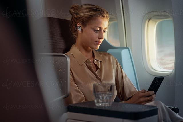 Philips Fidelio T1, écouteurs True Wireless deux voies, Bluetooth LDAC et réduction active de bruit