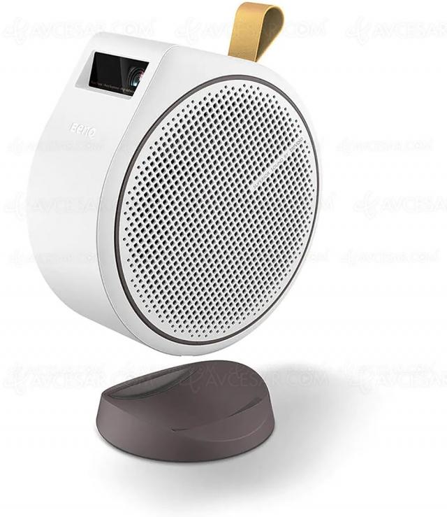 BenQ GV30, vidéoprojecteur portable LED Android TV et enceinte Bluetooth