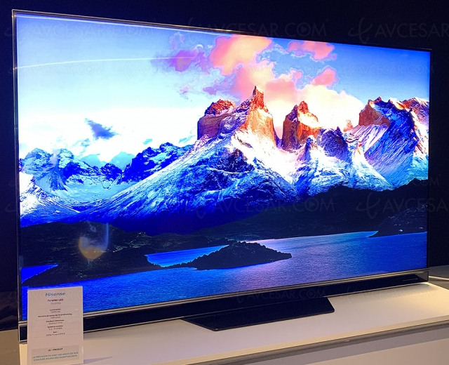 TV Mini LED QLED UHD 4K Hisense L75U9GQ, mise à jour spécifications et prix indicatif