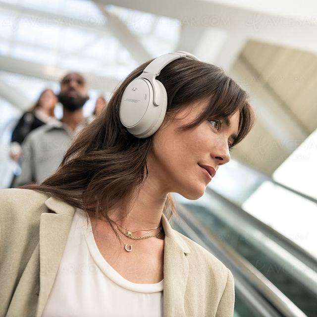 Bose QuietComfort 45, nouveau casque Bluetooth avec réduction de bruit active