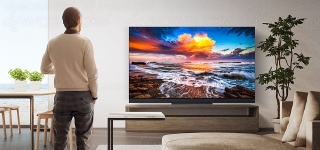 TV Ultra HD 8K TCL X925 : Mini LED, QLED, 1 000 nits, Dolby Vision/Atmos et Goggle TV