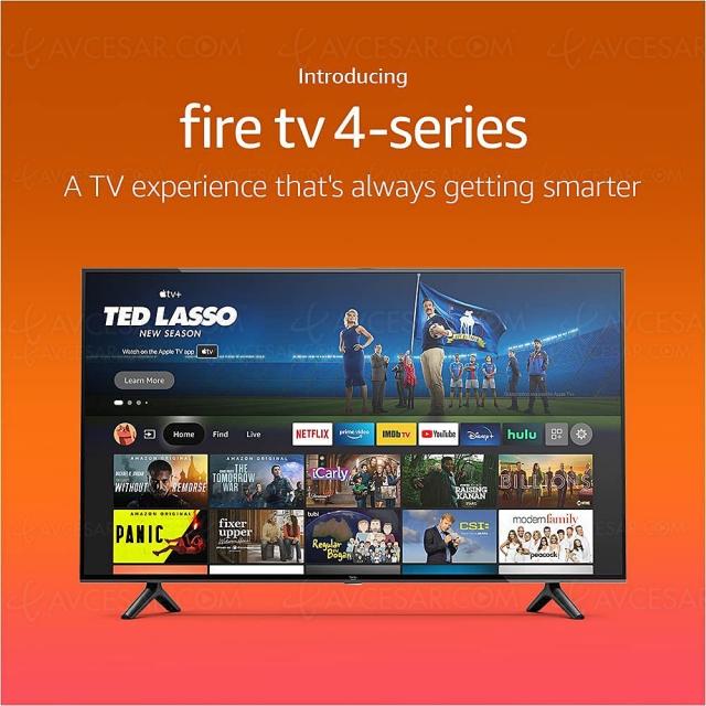 Amazon lance ses téléviseurs Fire TV Omni Series et Fire TV 4‑Series, de 43'' à 75''