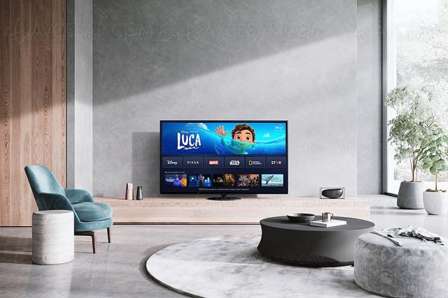 Disney+ sur Smart TV Panasonic 2017, 2018, 2019, 2020 et 2021