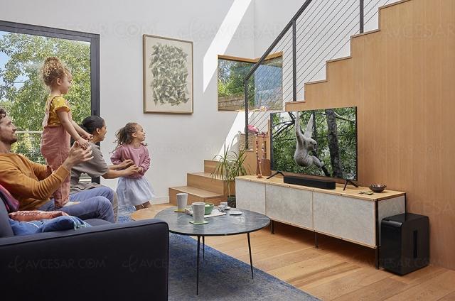 Sonos Beam Gen 2 :  barre de son 3.0 Dolby Atmos, multiroom, Alexa et Google Assistant