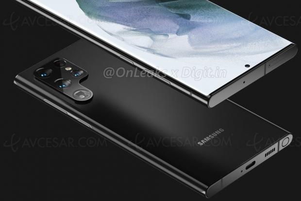Fuite Samsung Galaxy S22 Ultra : le « retour » du Galaxy Note ?