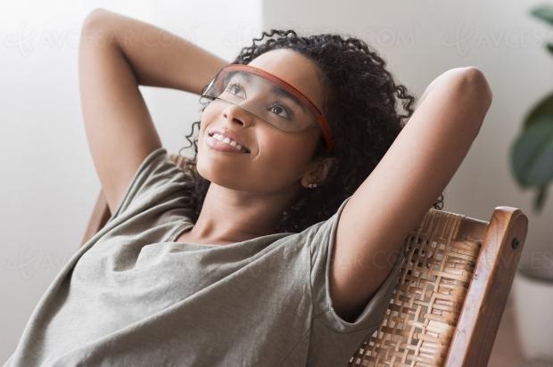 AR Warp, concept lunettes de réalité augmentée