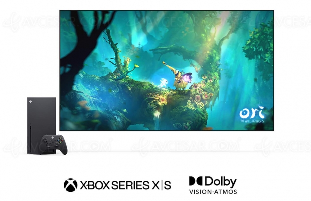 HDR Dolby Vision sur Xbox Series X et Series S