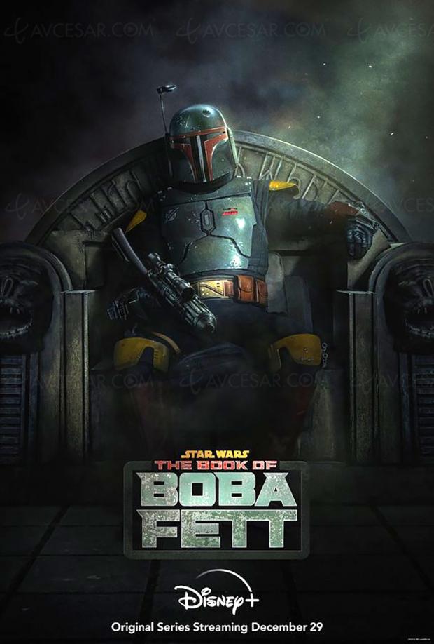 La nouvelle série live Star Wars The Book of Boba Fett bientôt sur Disney+