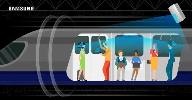 Samsung booste le Wi‑Fi dans le métro… avec la 5G