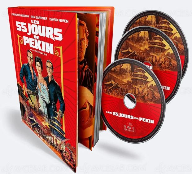 Les 55 jours de Pékin, une spectaculaire superproduction enfin en Blu‑Ray