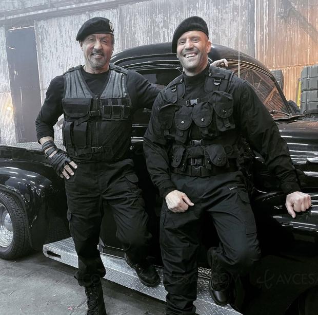 Expendables 4, Sylvester Stallone et Jason Statham annoncent en photo le début du tournage