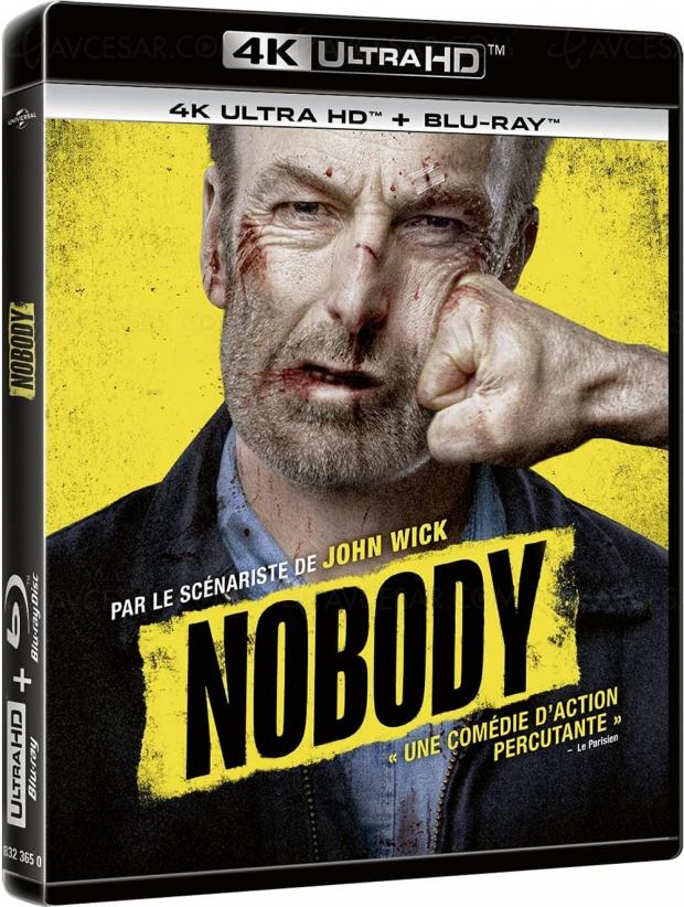 Nobody : quand Bob Odenkirk voit rouge en 4K Ultra HD