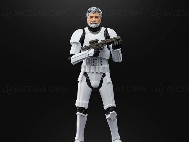George Lucas en Stormtrooper pour les 50 ans de Lucasfilm